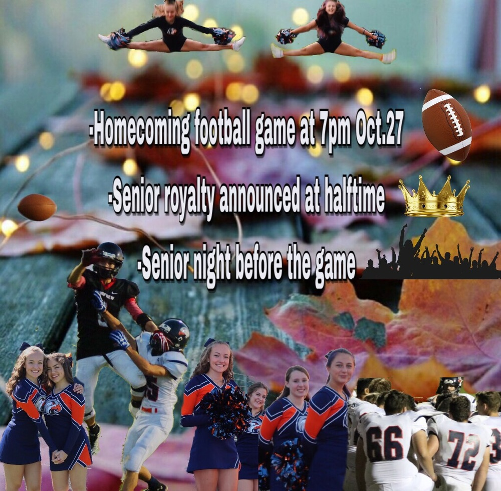 Upcoming Homecoming Football Game