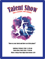 Talent Show Auditions Today (click on link to view commercial)