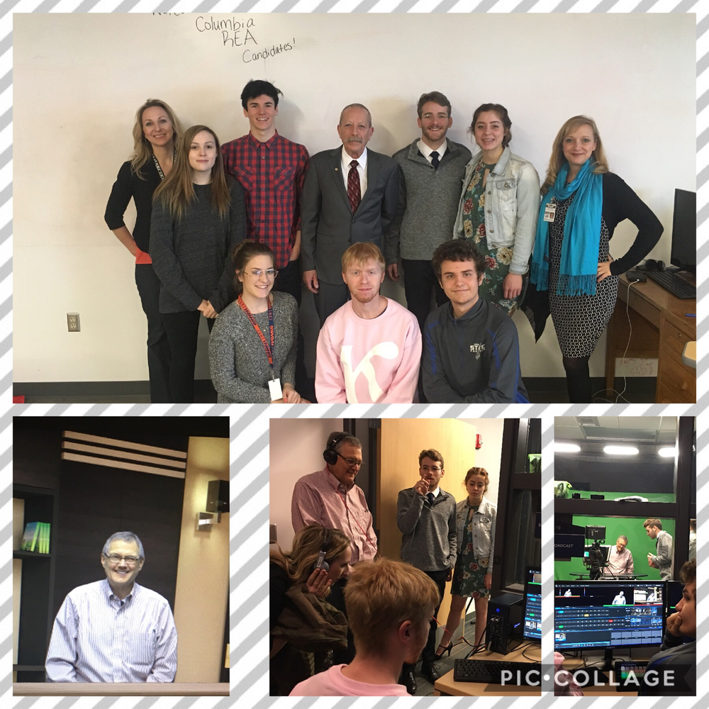 Media Communications 2 produces candidate videos for CREA