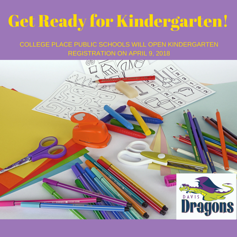 Kindergarten Registration Opens April 9, 2018