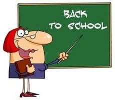 UPCOMING BACK TO SCHOOL NEWS