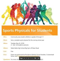 REMINDER- FREE SPORTS PHYSICAL ROUND-UP TODAY