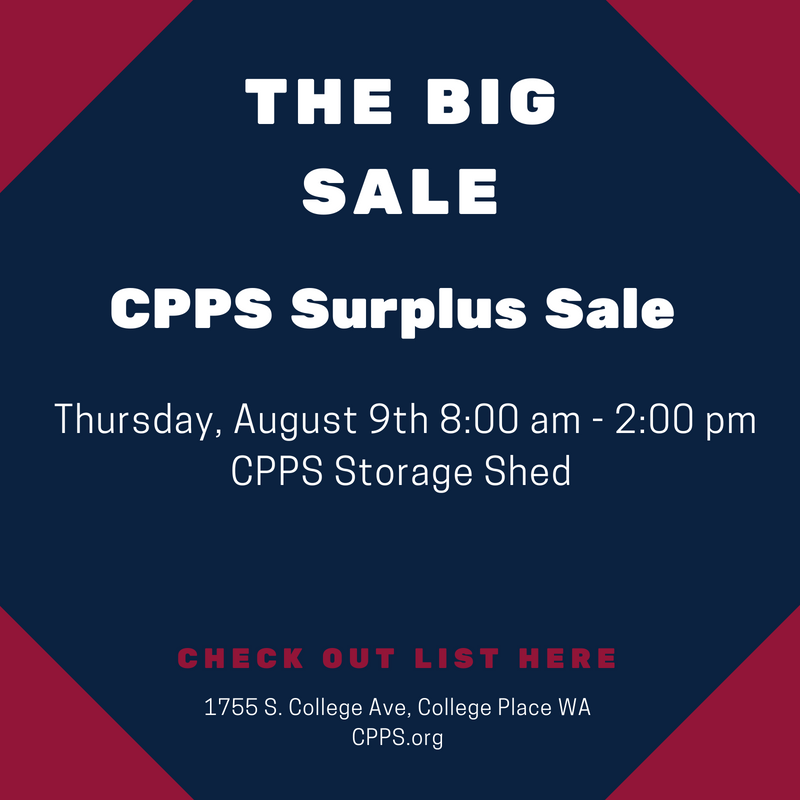 CPPS Surplus Sale
