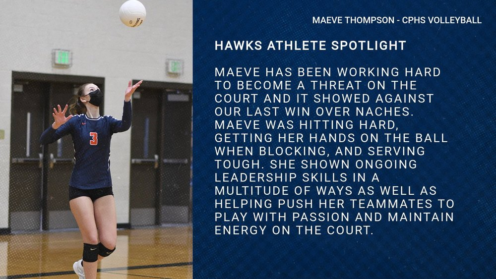 Hawks Athlete Spotlight - Volleyball