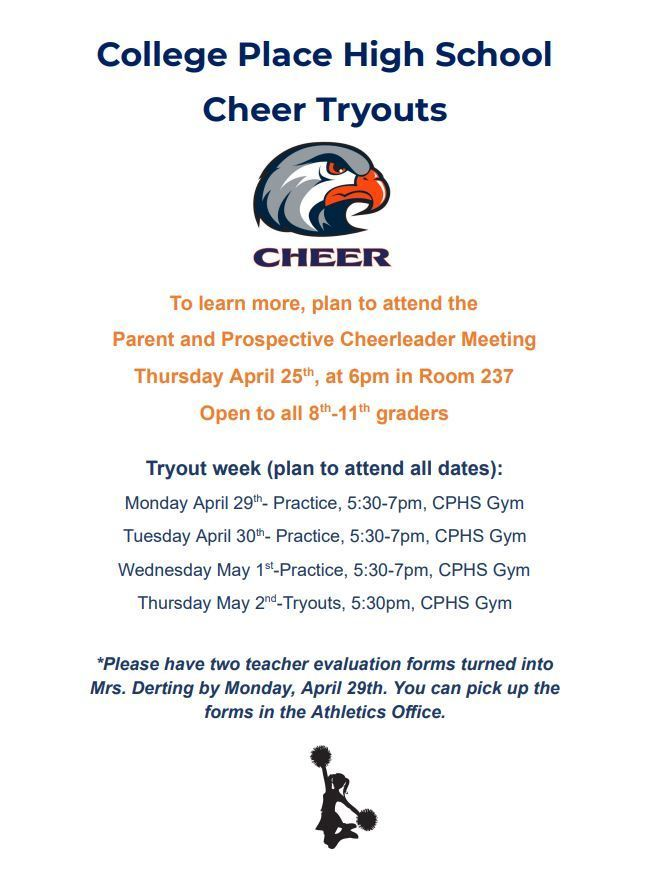 CPHS Cheer Tryouts for 2019-2020 Year