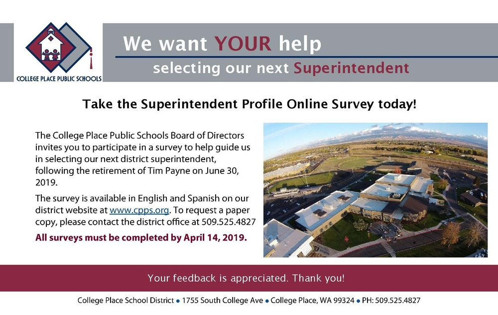 Superintendent Search and Survey