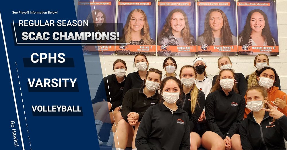 Hawks Volleyball SCAC Regular Season Champs! Playoff Info Included