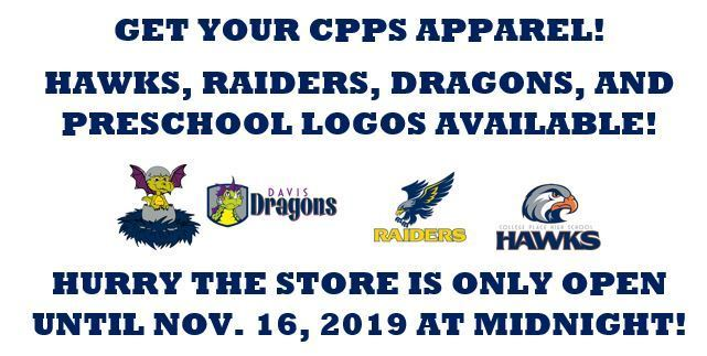 TIME IS RUNNING OUT! GET YOUR CPPS APPAREL ORDER IN!