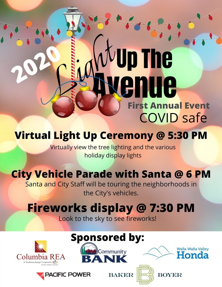 City of CP Light up the Avenue