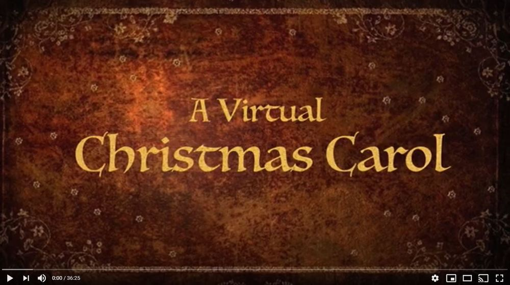 CPHS Drama Club Performance of A Virtual Christmas Story 2020