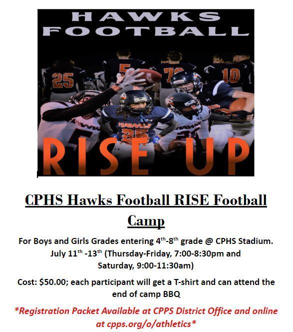 Hawks Football Youth Camp