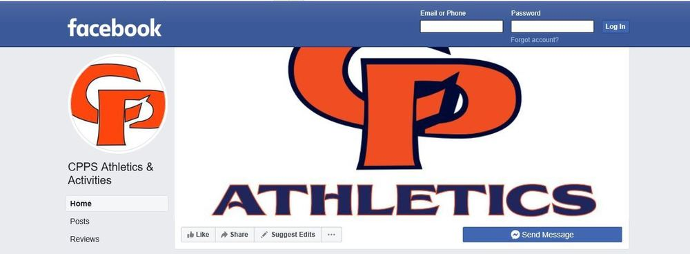 New CPPS Athletics / Activities Facebook Page