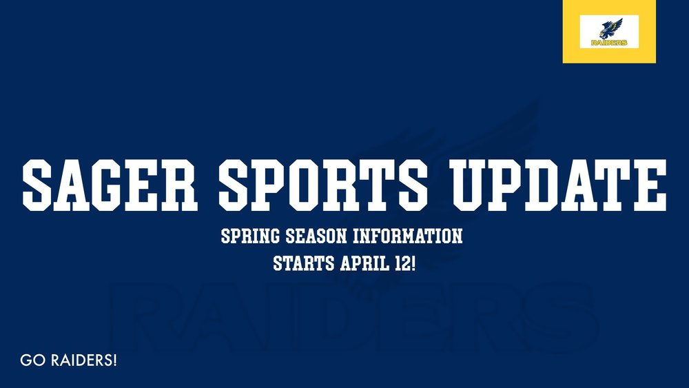 Sager Spring Sports Information and Updates