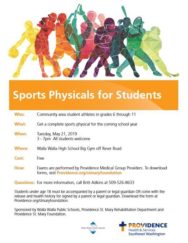 5th Annual Sports Physical Round-Up!
