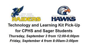 Technology & Learning Kit Pick-Up for CPHS/Sager Students
