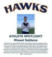 Hawks Athlete Spotlight- Boys Soccer