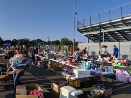 Hawks Rummage Sale a Huge Success!