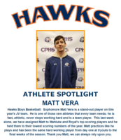 Hawks Athlete Spotlight - Boys Basketball