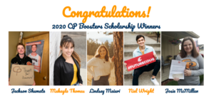 2020 CP Boosters Senior Scholarship Winners Announced!