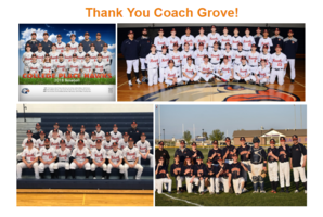 Thank You Coach Grove!