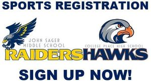 SPORTS REGISTRATION! GET SIGNED UP!
