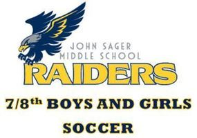 NEW SPORTS- 7/8th Grade Soccer Added at Sager MS!