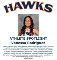 Hawks Athlete Spotlight- Track and Field