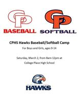 Hawks Baseball/Softball Camp