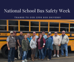 CPPS Celebrates National School Bus Safety Week