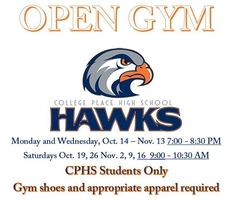 CPHS Open Gym Information