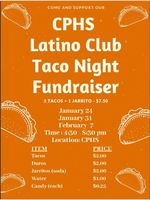 CPHS Latino Club Taco Sale Fundraiser
