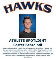 Hawks Athlete Spotlight - Baseball