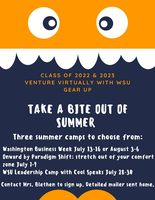 Class of 2022 and 2023: Gear Up Virtual Summer Camp Opportunity!