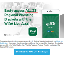 WIAA App- Wrestling and More! Download Today!