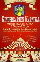 Save the Date - Kindergarten Karnival!