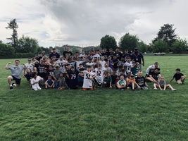 Hawks Football Fun at Davis Kids Camp!