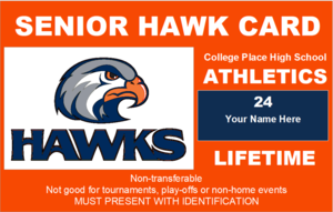 CPHS Senior Hawk Club Card