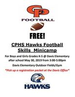 CPHS Hawks Football Mini Camp