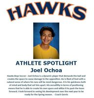 Hawks Athlete Spotlight - Boys Soccer