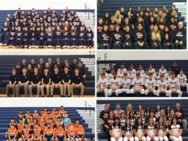 Hawks Spring Athletes