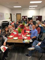 CPHS CULINARY CATERING CLASS SERVES CPPS STAFF CHRISTMAS LUNCH