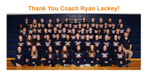 Thank You Coach Ryan Lackey!