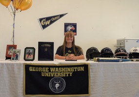 Paris Orchard Signs with George Washington University!
