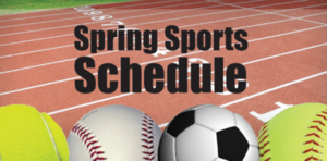 CPHS and Sager Spring Sports Info