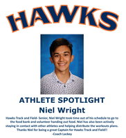 Hawks Athlete Spotlight - Track and Field