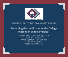 CPPS Community Candidate Forum