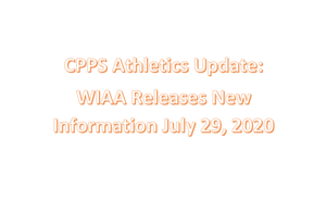 Important Athletics Update- WIAA New Info on Seasons and Rules