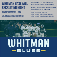 Whitman Baseball Recruiting Night