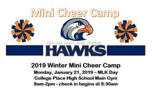 Hawks Mini Cheer Camp!