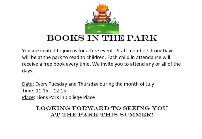 Books in the park English